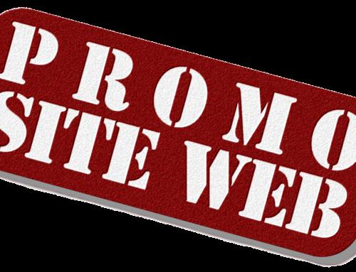 Promotion site Web de mai 2017