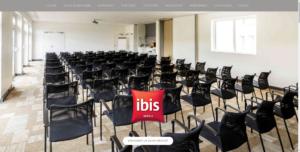 Site Internet responsive des salles de séminaire de l'hôtel IBIS de la Glacerie, à Cherbourg en https sécurisé par certificat SSL